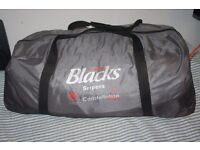 quality Blacks Constellation Serpens tents for 7 persons