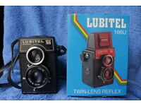 Lubitel film camera with original box and manual REDUCED PRICE