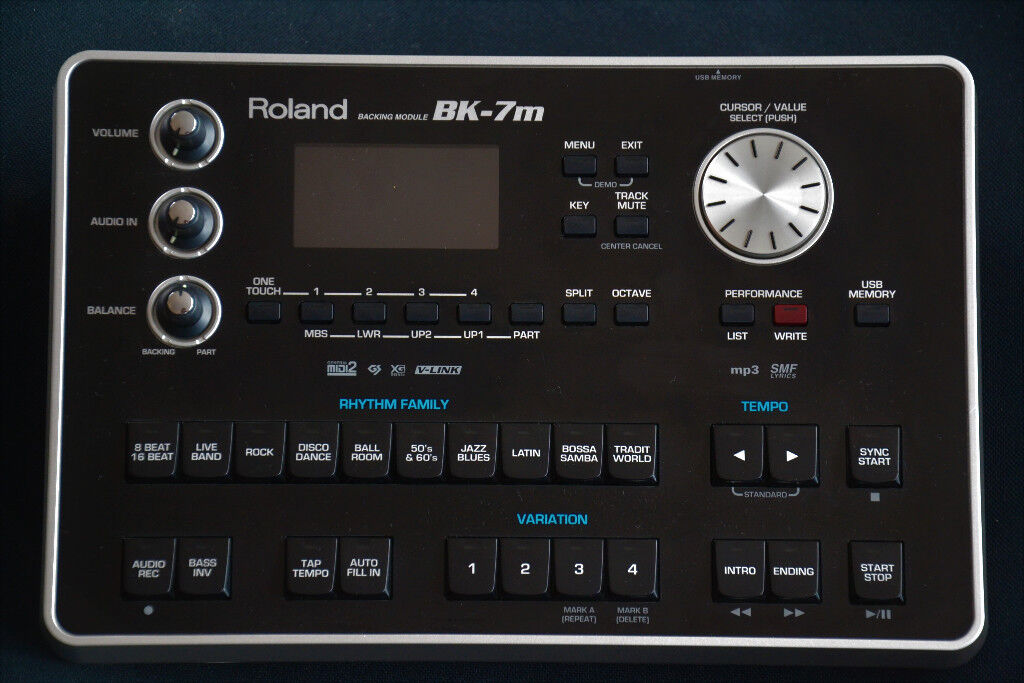 Roland BK-7m backing module | in Milngavie, Glasgow | Gumtree