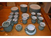 Denby Regency Green Dinner Set 50 items