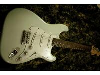 FENDER STRATOCASTER VINTAGE CREAM electric guitar squier indonesia model