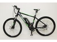 GREENWAY ELECTRIC mountain bike, Samsung cell lithium battery LCD, PAS system £800