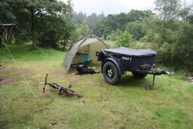 Sankey style army trailer Land Rover