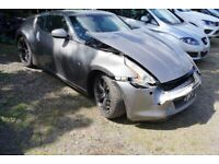 BREAKING NISSAN 370Z GT V6 PETROL MANUAL 2011 FOR PARTS ONLY FOR ONE BOLT