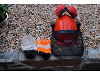 Safety Clothing for Chain saw use
