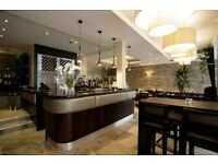 AQUA BAR & GRILL NOW RECRUITING EXPERIENCED WAITING STAFF WITH A MINIMUN OF 3 YEARS EXPERIENCE