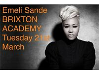 Emeli Sande @ Brixton Academy 02 ----- March 21st