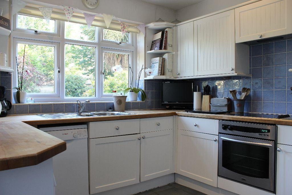 Classic cream shaker style kitchen in walton on thames for 50cm deep kitchen units