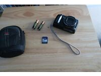 Canon poweshot sx120is including batteries, memory card and case!