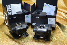 Cactus V6 Wireless Flash Triggers Transceiver x 2