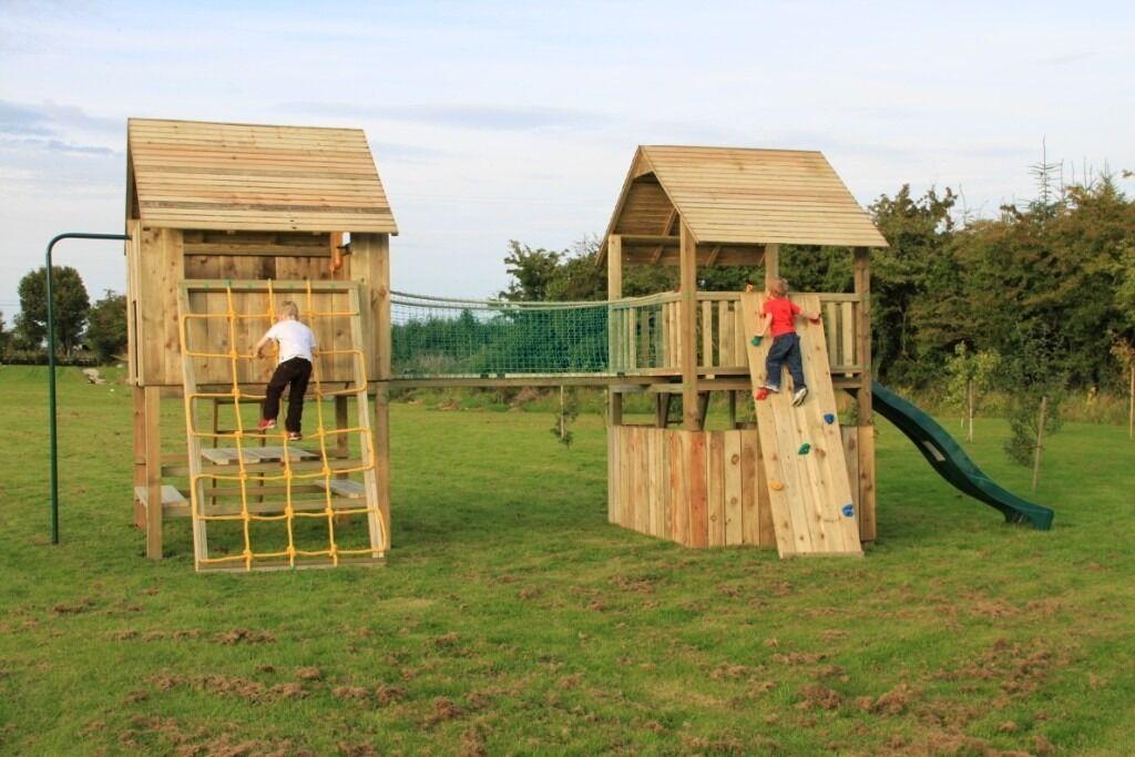 Climbing frames jungle gym swings slides in banbridge