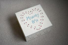 East of India wooden Memory / Keepsake Box