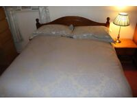 Pine Wood Bed / No Mattress