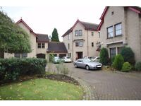 A 3 Bedroom flat with garage, allocated parking available immediately on rent in Cramond