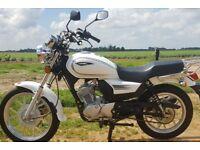 sinnis 125cc motorbike