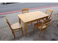Kitchen/Dining Beech Wood Table