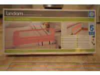 Lindham Pink Safety Toddler Bed Rail