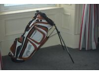 Ping Latitude Golf Bag in White and Copper