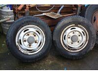 2x Ford Transit Van tyres/rims