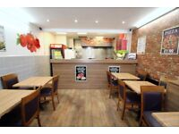 Restaurant and 3 bedrooms Flat on prime location of Walthamstow with Long Lease