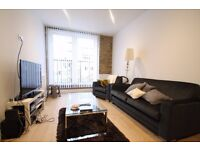 1 BED CANAL SIDE WAREHOUSE CONVERSION IN LIMEHOUSE. TOP SPEC. AVAIL MARCH.SHORT WALK TO CANARY WHARF