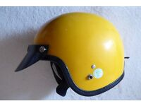 Retro Crash Helmet for sale