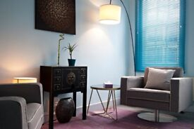 Modern, stylish, beautifully presented consulting rooms in Chelsea. Calm, Safe & Professional
