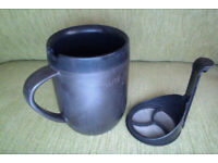 Cafetiere in a mug