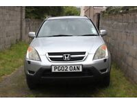 For Sale 2002 Honda CR V EX 2.0 petrol
