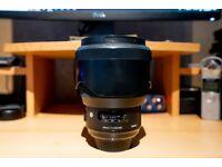 Sigma 85mm 1.4 Art Lens (Nikon Mount)