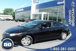 2012 Honda Civic Sdn DX VITRES ET MIRROIRS ELECTRQIUES