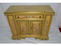 Reproduction Cupboard and Collaspable Bed