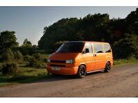 VW Transporter T4 2.5tdi 102bhp, Swb. Zero mile engine 15k ago, Manual, Lambo orange.