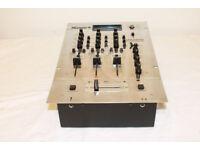 Numark DM2002X Pro Master Mix - 3 Channel Pre Amp Mixer (Chrome)