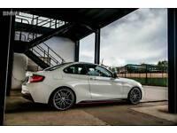 "BRAND NEW 19"" BMW M PERFORMANCE ALLOY WHEELS X4 BOXED 5X120 3 4 5 SERIES E90 F30 F10"