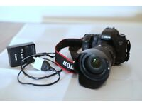 Canon EOS 6D 20.2MP Digital SLR Camera - Black (Body only) - Very Good Condition