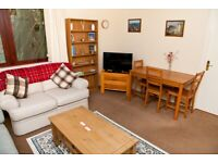 Short Term Let - (1-3 months) One Bedroom Flat on Union Canal with car parking (404)