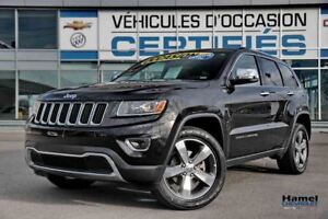 2016 Jeep Grand Cherokee BAS KILOMETRAGE AVEC OPTIONS RECHERCHER