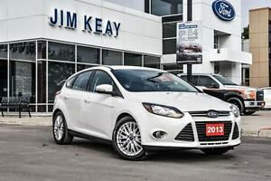 2013 Ford Focus TITANIUM HATCH W/LEATHER & BLUETOOTH