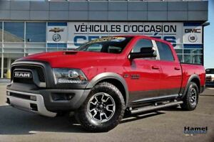 2016 Ram 1500 Crew Cab REBEL+ SUPENSION AJUSTABLE, NAVIGATION 8.