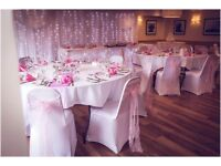 Wedding chair cover hire SPECIAL OFFER