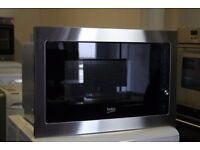 Beko Integrated Microwave Ex-Display Model No.MGB25332 12 Month Warranty Delivery Available
