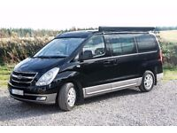 *RESERVED* Hyundai i800 4 berth campervan with 5 belted seats