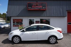 2013 Ford Focus SE BLANC AUTOMATIQUE FULL ÉQUIPÉ 87 500 Km