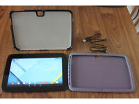 Samsung Nexus 10 Android Tablet 16GB Black with Cases