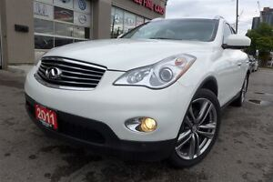 2011 Infiniti EX35 Luxury Line, Leather, Roof, Rear Cam