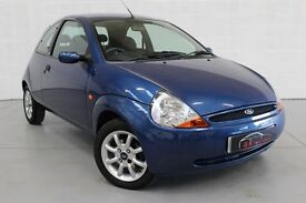 FORD KA 1300 CLIMATE 3 DOOR ** SERVICE HISTORY*NATIONWIDE WARRANTY*100% HPI CLEAR** X2 KEYS