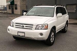 2007 Toyota Highlander V6 Leather Loaded Only 105, 000miles - Co