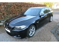 BMW 5 Series 2.0 520d M Sport Touring 5dr, automatic, sat nav - BARGAIN Immaculate condition