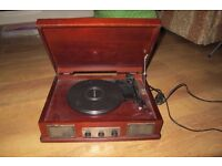 Wooden Style Vinyl Player - ONLY £10